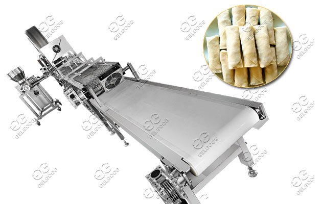industrial spring roll making machine