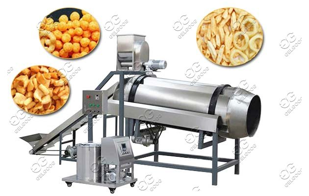 commercial snack flavoring machine