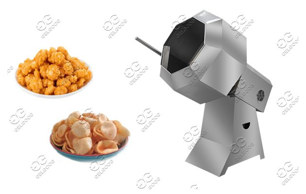 octagonal chips flavoring machine