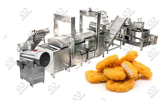 commercial nuggets making machine