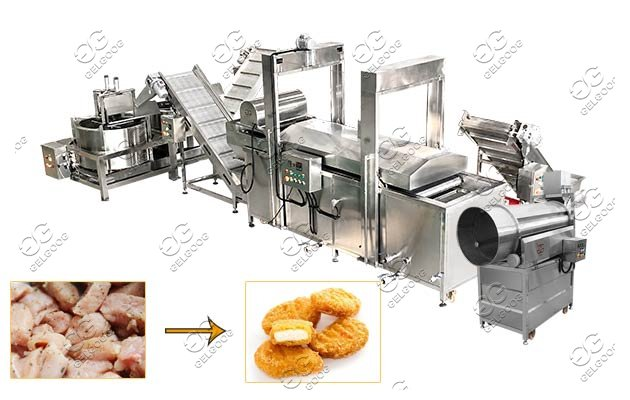 chicken nugget molding machine