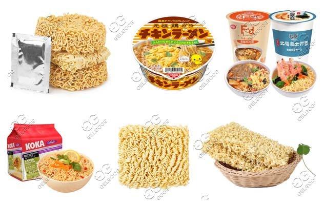 nimi automatic instant noodle production line