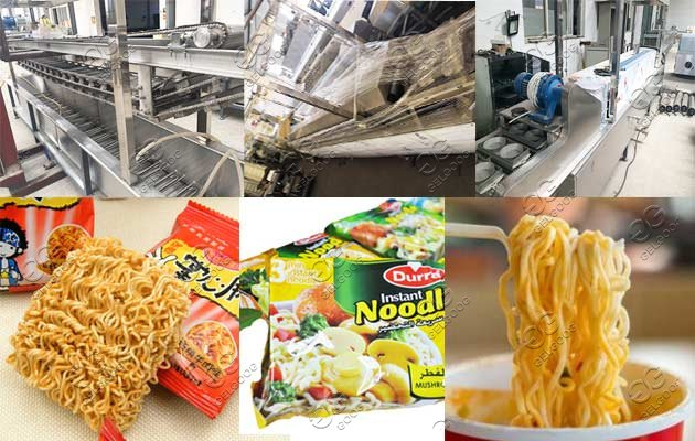 industrial instant noodle making machine