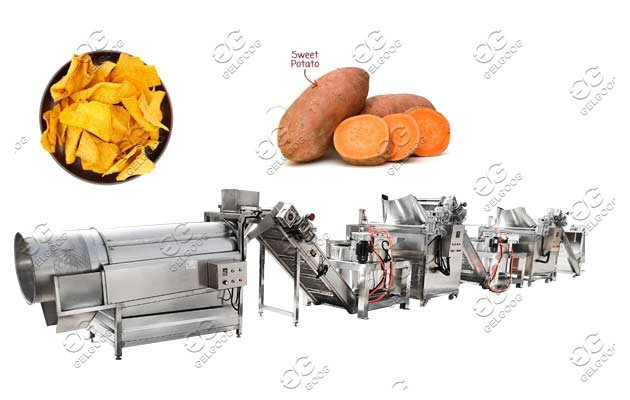 sweet potato chips making machine for sale