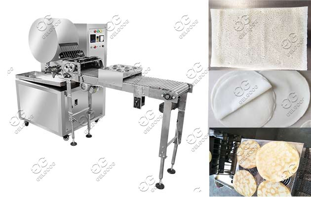 commercial spring roll wraps machine