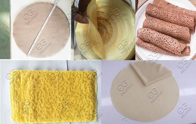 automatic injera baking machine