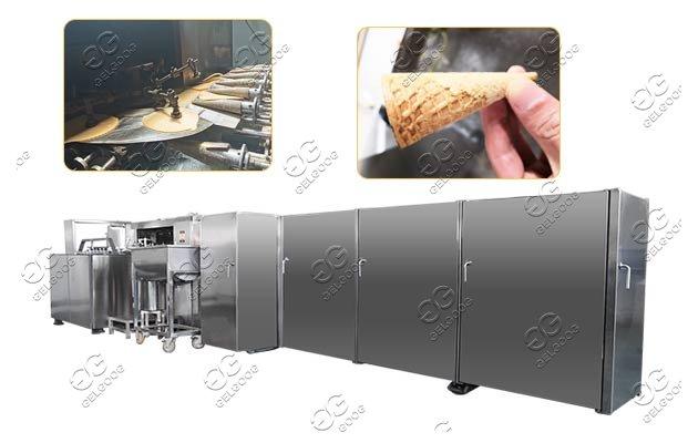 automatic waffle cone making machine