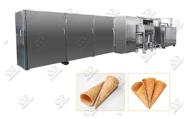 automatic waffle cone production line