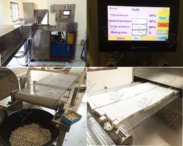 sugar cubes production line