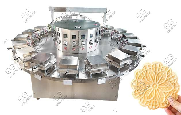 industrial pizzelle cookie making machine