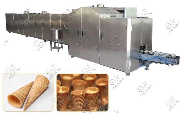 commercial ice cream sugar cone production line