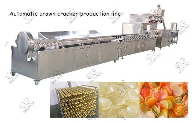 prawn crackers manufacturing machine