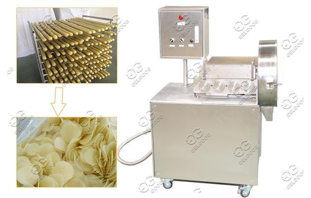 shrimp cracker slicing machine