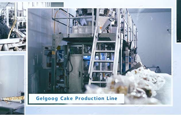 gelgoog cake production line