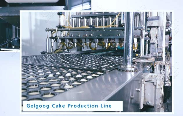 cake production line supplier