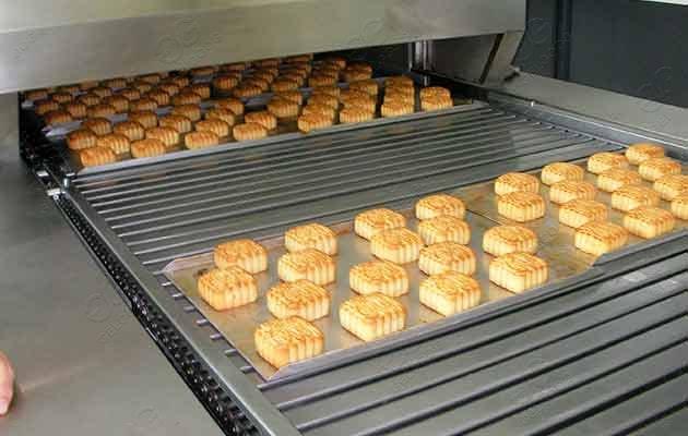 bakery cake baking oven machine