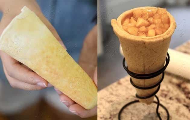 cone pizza making machine