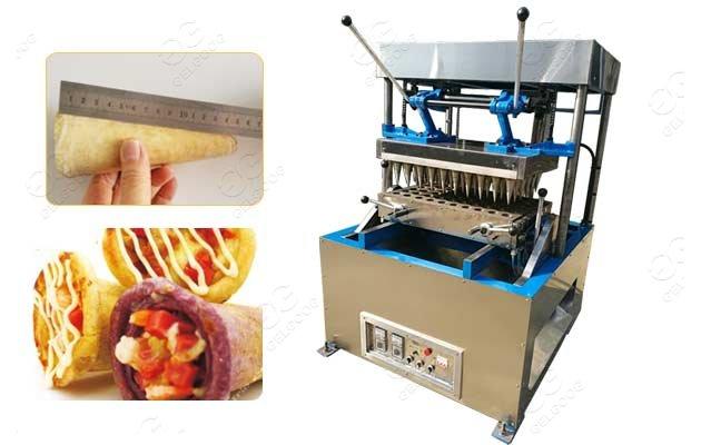 pizza cone baking machine price