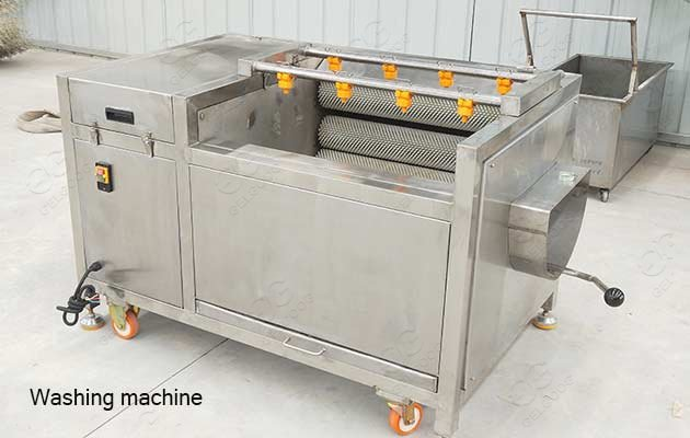 industrial clams washing machine