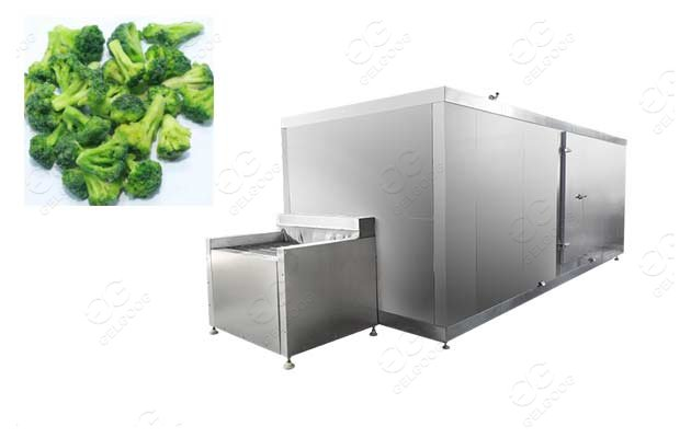 broccoli quick freezing line