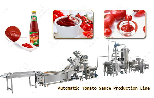 automatic tomato paste production line