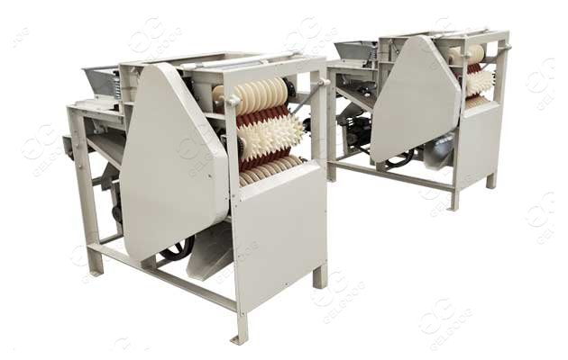 almond blanching peeling machine