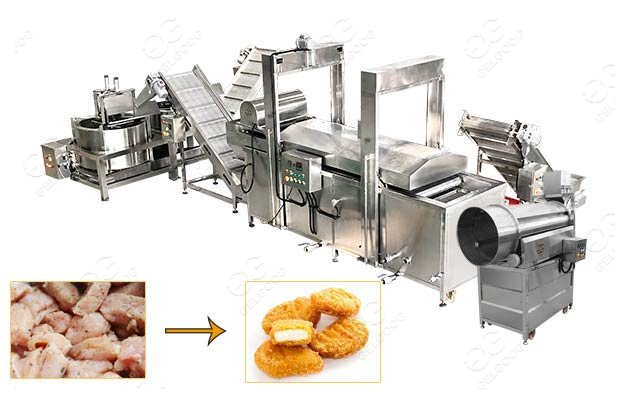 nuggets making machine price