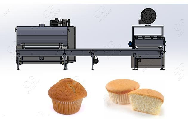 industrial cupcake production line