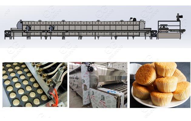 cupcake factory machine