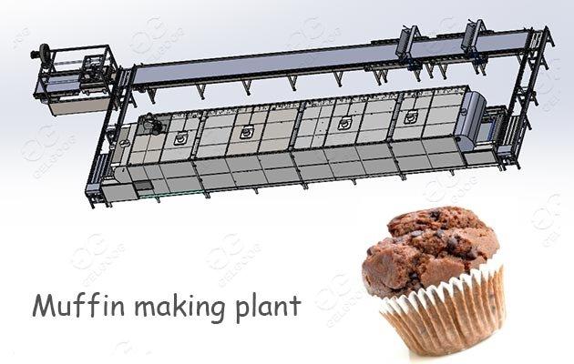 automatic muffin making machine