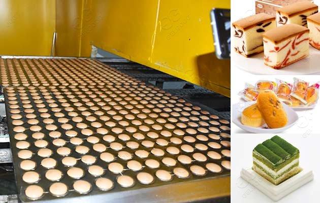 cake baking tunnel oven