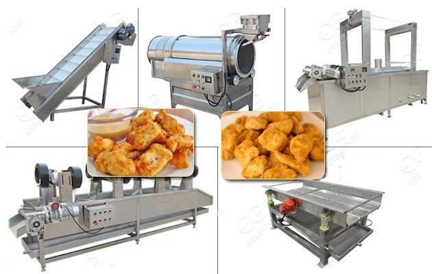 nuggets making machine price