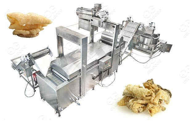 commercial fish frying machine