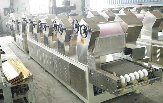 fried instant noodle making machine