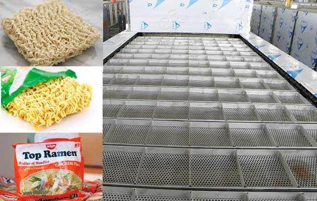 instant noodle making plant