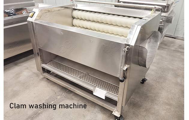 industrial clam washing machine