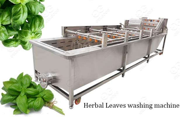 industrial herbal leaves washing machine
