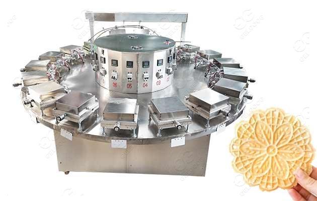 industrial pizzelle baking machine price