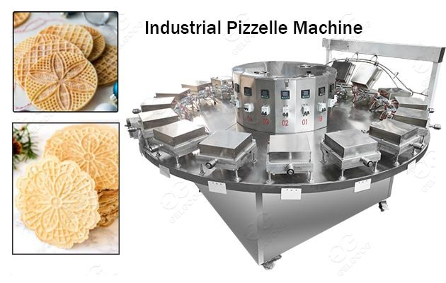 industrial pizzelle making machine