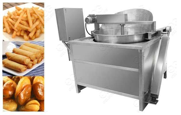 peanut snack frying equipment