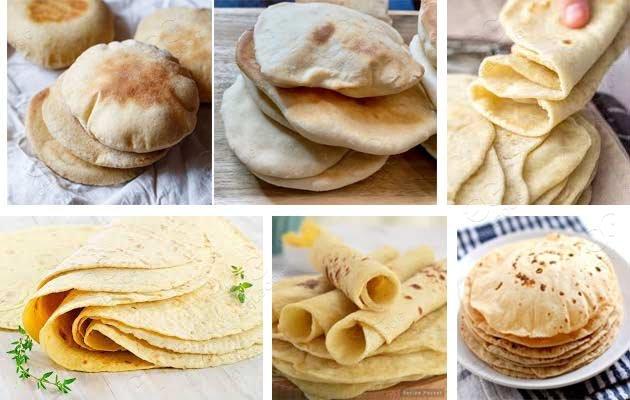 pita bread production line