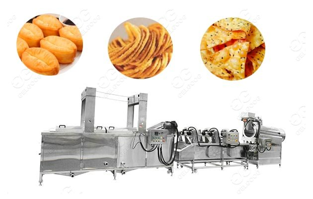 snack frying machine for sale