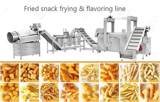 bread snack frying machine supplier