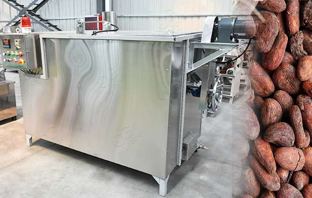 cacao roasting machine supplier