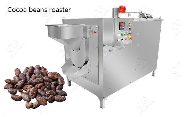 cocoa bean roasting equipment