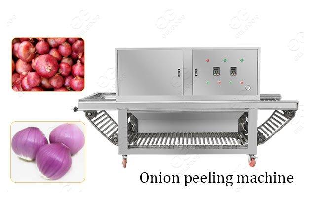 industrial onion peeling machine