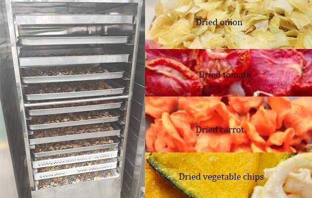 dried onion processing machine
