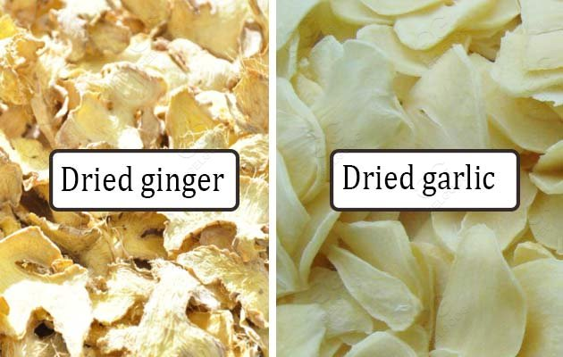 ginger garlic drying machine