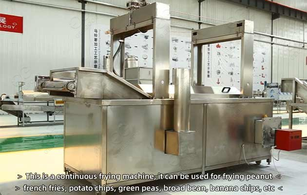 plantain chips automatic frying machine