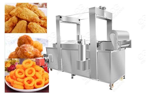squid rings fryer machine price